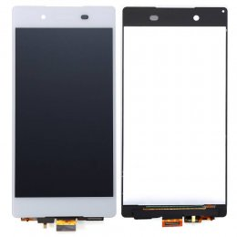 Sony Xperia Z3+ LCD Display & Touch Skärm - Vit