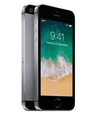 Begagnad iPhone SE 16GB Space Grey Olåst i Toppskick Klass A.
