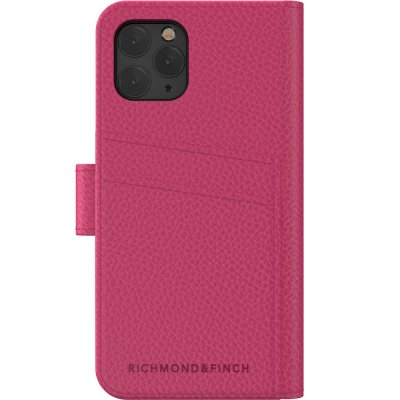 iPhone 11 pro skal fodral rosa Richmond Finch wallet planbok