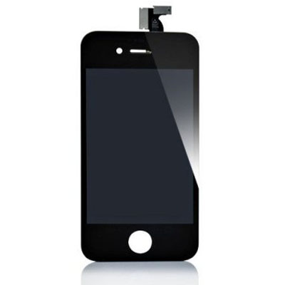 iPhone 4S skärm LCD display Svart
