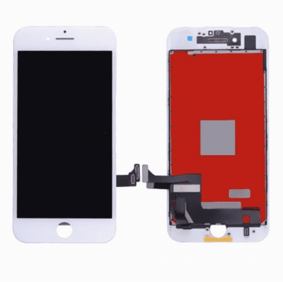 iphone 7 plus original skärm lcd display vit