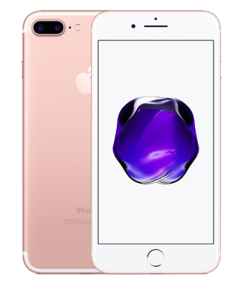 Apple begagnad iPhone 7 Plus 128GB rosa guld, iPhone begagnat