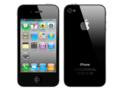 iPhone 4 16GB Svart
