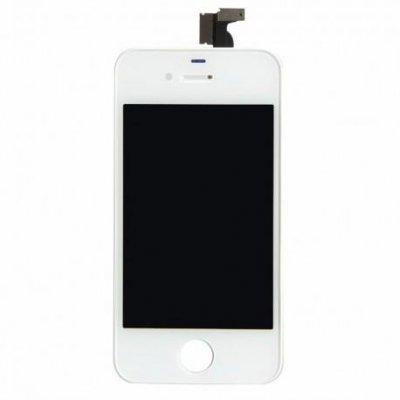 iPhone 4 Display Glas med LCD - Vit