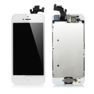 IPhone 5 Komplett LCD Skärm & Digitizer Vit