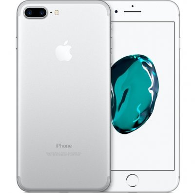 apple begagnad iPhone 7 plus silver