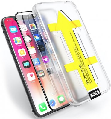 iPhone XS Max Skärmskydd Racing Shield Nanoglass Full Screen Easy-App