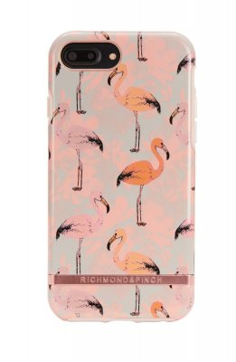Richmond & Finch skal för iPhone 6/6S/7/8 Plus, Pink Flamingo