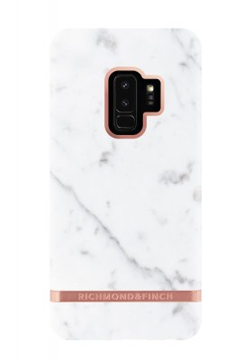 Richmond & Finch skal för Samsung Galaxy S9 Plus, White Marble