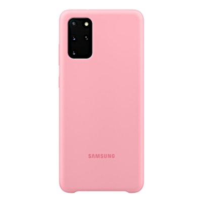 Samsung Silicone Cover for Samsung Galaxy s20 Plus rosa original