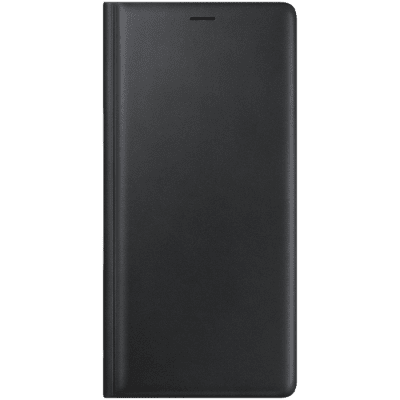 Samsung Galaxy Note 9 Leather View Cover - Svart